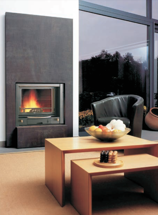 how to remove glass from a gas fireplace